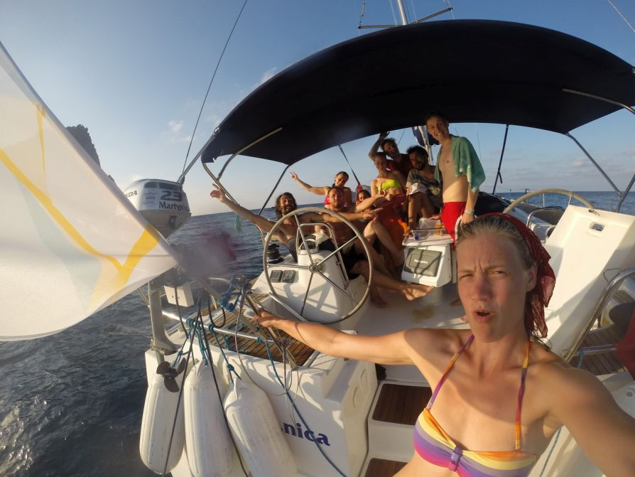 Lipari To Panarea Sailing