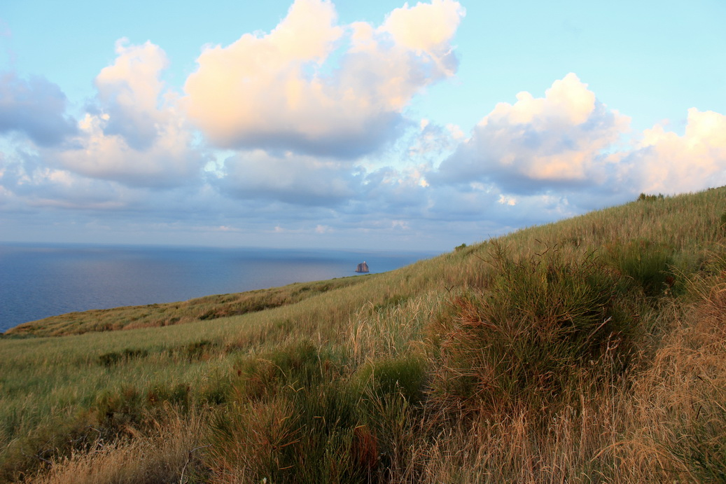 Stromboli Hike View