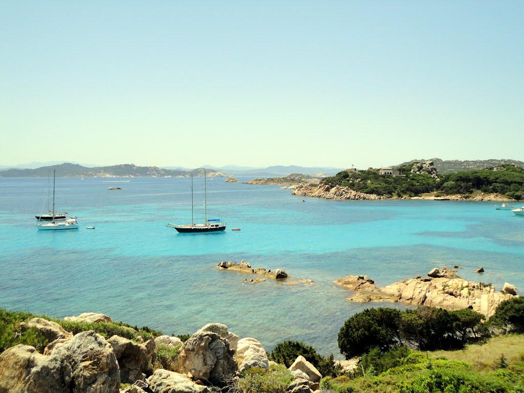 Santa Maria Bay, Sardignia Corsica Sailing