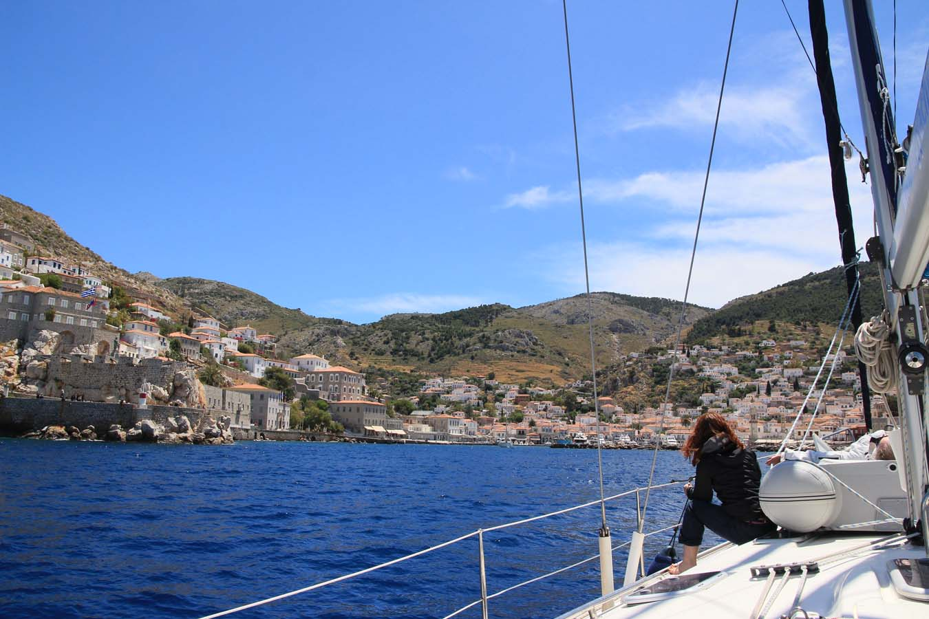 Sailing in Greece. A skippers log from Saronic Gulf.