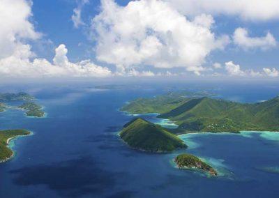 British Virgin Islands Aerial