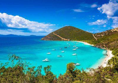 Jost Van Dyke, The White Bay, Caribbean Sailing