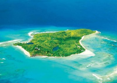 Necker Island, Our Lunch And Snorkelling Spot!
