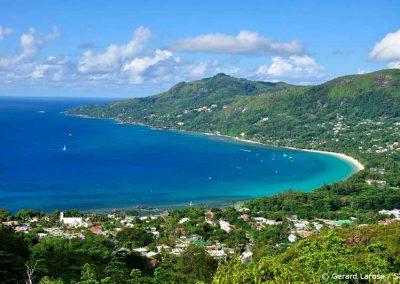 Mahe, Bay of Beau Vallon, Sailing Holidays in Seychelles