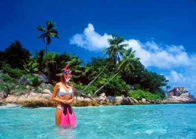 Snorkelling, Therese Island, Sailing Holidays in Seychelles