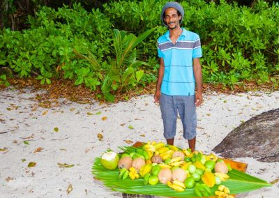 Fruit Seller in Victoria, Seychelles