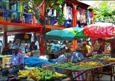 Fruit Market in Victoria, Seychelles