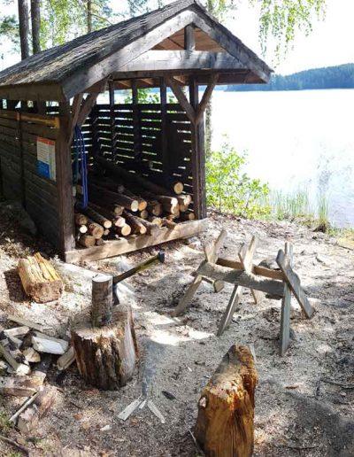 Chop the wood
